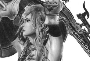 Lightning Final Fantasy XIII-2 by Tifta