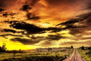 Sunset Road by NooA