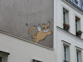 French Street art by Ruby-kins