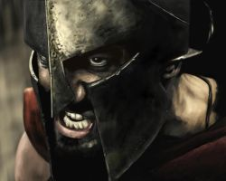 King Leonidas by we-are-spartans