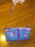 Duck tape hand bag by recycledrapunzel