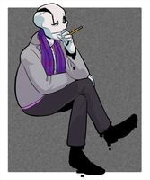UT - Gaster Outfit 4 by SimonSoys