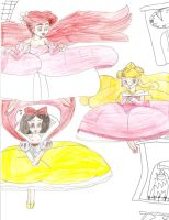 Floating Disney Princesses 2 by Aquateen510