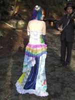 Back of dress by MeganYourFace