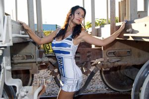 R2-D2 dress by Ivy95