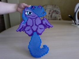 Large Perler Bead Art: Filly Luna by Perler-Pony