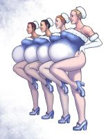 Rockettes Commission by Olympic-Dames