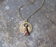 Star Trek IDIC Necklace by Peaceofshine