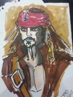Jack Sparrow by sirandal
