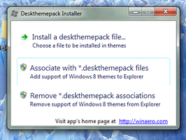 Deskthemepack Installer for Windows 7 by hb860