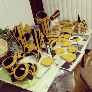 Drakengard 3 armor (cosplay progress) by Puma-Lightning