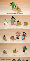 the amazing snail race by leficia