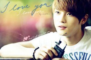 I love you Jaejoong by KNPRO