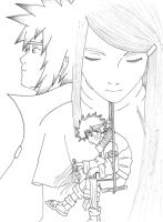 naruto's memories lineart by Lady-Mime