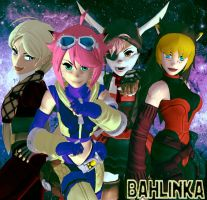 Space Pirates by Bahlinka