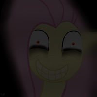 Fluttershys smile by RoseOtto