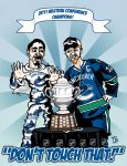 CANUCKS : DON'T TOUCH THAT. by Bleezer