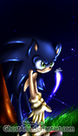 Sonic in the night by SonicSister