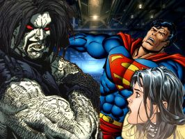 Lobo Shows Lois who is the boss here by connie866