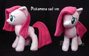 sad Pinkamena by lemonkylie