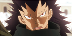 gajeel dont point that finger at me by havel01a