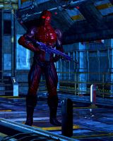 Red Shadow Marine by ccbig