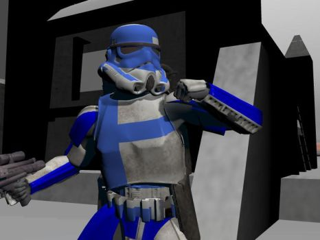 501st Trooper by bladernnr7