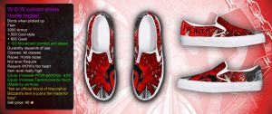 WOW Horde custom shoe by corArze