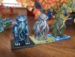 Cthulhu  Triplets by Cultureshock007