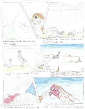 Fight or Flight: Page 1 Final Draft by Styx-the-Avian