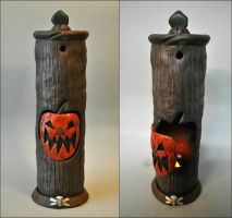 Nightmare Before Christmas 'Halloween Tree/Door' by Mace-X