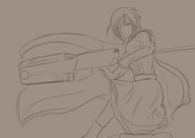 Quick Sketch WIP by Alphagusta