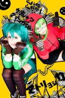 VOCALOIDs - Matryoshka by kumakuku
