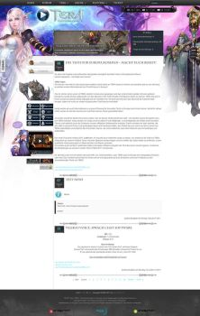 TERA Fansite Layout 2 by Dohle