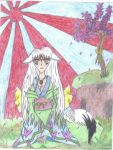 amaterasu Mother to us all by human-okami-club
