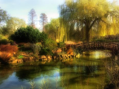 Regent's Park Fake HDR by nax-08