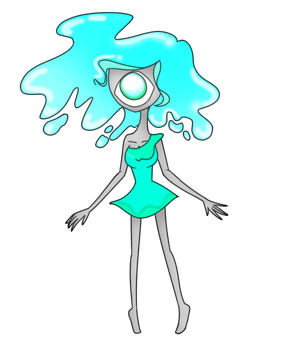 Adoptable water ghost (closed) by Demon-Seahorse