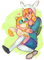 fionna and cake by votums