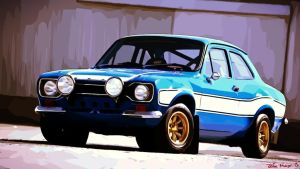 1970 Ford Escort MK1 RS1600 by julesmeijer