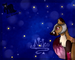 Niko and the Night Sky by x-Blacky-x