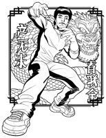 ENTER THE DRAGON by PORTELA