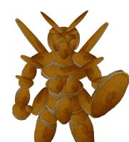 PANCAKE GUNDAM by DarkMythril