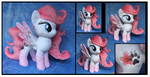 Commission: Sakura OC plush by Nazegoreng