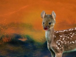 The Mouse Deer by 3punkins
