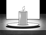 KESS candle (animated) by jmmk86