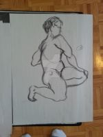 Life Drawing by BlueMaroon