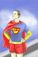 Super Sheldon by ZoeyFagerlid