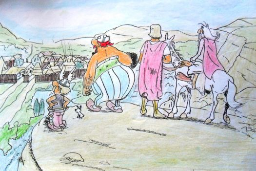 Asterix y Obelix by Bleach2012
