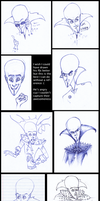MEGAMIND SKETCHES and Conan by RAIDEO-MARS