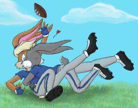 Tackle Love by Da-Wabbit